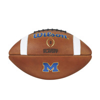 Jabrill Peppers Autographed Michigan NCAA Game Football (pre-order)