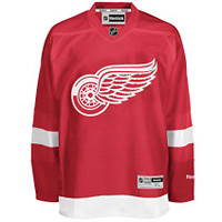 Jacob de la Rose Autographed Detroit Red Wings Jersey (Pre-Order)