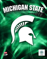 Michigan State University Logo Photo File 8x10 Photo
