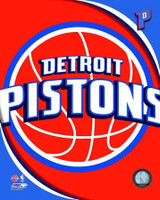 Detroit Pistons Logo Photo File 8x10 Photo