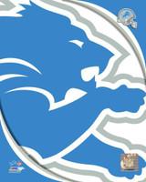 Detroit Lions Logo Photo File 8x10 Photo