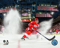 "Detroit Red Wings Dylan Larkin ""Ice Spray"" Photo File 8x10 Photo"