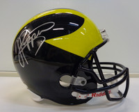 Jabrill Peppers Autographed Michigan Wolverines Deluxe Replica Helmet