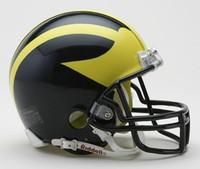 David Long Jr. Autographed Michigan Mini Helmet (Pre-Order)