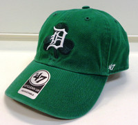 Detroit Tigers Men's 47 Brand St. Patrick's Day Galway Clean Up Adjustable Hat