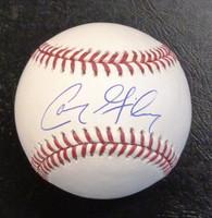 Cam Gibson Autographed Baseball - Official Major League
