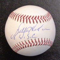 "Willie Horton Autographed Official Major League Baseball w/ ""68 WSC"""