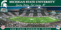 Michigan State University Masterpieces Inc. 1000-Piece Stadium Panoramic Puzzle