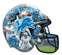 Detroit Lions Masterpieces Inc. 500-Piece Helmet Shaped Puzzle