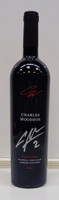 "Charles Woodson Autographed ""TWENTYFOUR"" 2013 Cabernet Sauvignon Bottle of Wine"