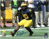Devin Bush, Jr. Autographed Michigan Wolverines 8x10 Photo #1