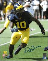 Devin Bush, Jr. Autographed Michigan Wolverines 8x10 Photo #3