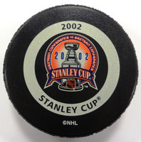Nicklas Lidstrom Autographed 2002 Stanley Cup Playoffs Game Puck (pre-order)