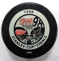 Steve Yzerman Autographed 1998 Stanley Cup Finals Game Puck (Pre-Order)