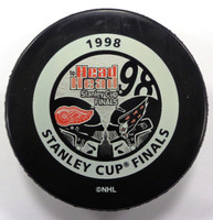 Steve Yzerman Autographed 1998 Stanley Cup Finals Game Puck (Pre-Order)