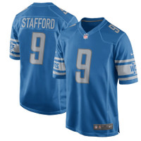 Matthew Stafford Autographed Detroit Lions Blue Nike Limited Jersey (Pre-Order)