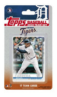 Detroit Tigers 2019 Topps Team Set