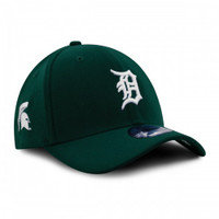 Detroit Tigers New Era 39THIRTY Michigan State University Flex Fit Hat