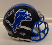 Matthew Stafford Detroit Lions Flat Black Mini Helmet