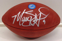Matthew Stafford Autographed Official NFL Detroit Lions Logo Football