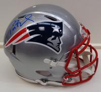 Tom Brady Autographed Authentic New England Patriots Speed Helmet