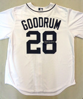 Niko Goodrum Autographed Detroit Tigers Home Jersey Inscribed