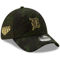 Detroit Tigers New Era 2019 MLB Armed Forces Day Salute to Service 39THIRTY Flex Hat - Camo