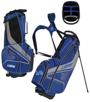 Detroit Lions Team Effot Gridiron III Stand Golf Bag