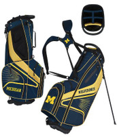 University of Michigan Team Effot Gridiron III Stand Golf Bag