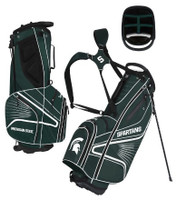 Michigan State University Team Effot Gridiron III Stand Golf Bag