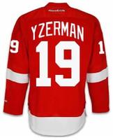 Detroit Red Wings Reebok Premier Home Jersey - Yzerman #19