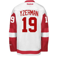 Detroit Red Wings Reebok Premier Road Jersey - Yzerman #19
