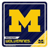 "University of Michigan Rico 3""x3"" Sport 3D Wooden Magnet"