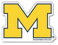 "University of Michigan Wincraft 2""x3"" Precision-Cut Magnet"