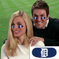 Detroit Tigers The Party Animal Vinyl Face Decorations