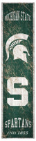 "Michigan State Spartans Fan Creations 6""x 24""Wooden Vertical Heritage Banner Sign"