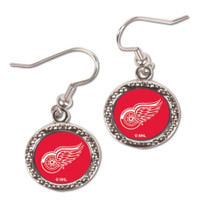 Detroit Red Wings Wincraft Dangle Circle Earrings