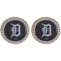 Detroit Tigers Wincraft Post Circle Earrings