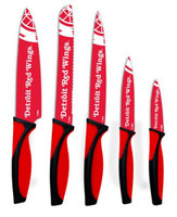 Detroit Red Wings The Sports Vault Corp. Kitchen Knives - Set of 5