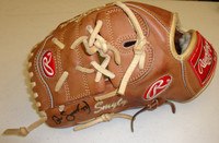Drew Smyly Game Used First Major League Glove - Autographed and Inscribed