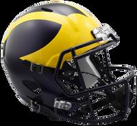 Chase Winovich Autographed Michigan Speed Mini Helmet (Pre-Order)