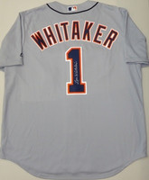 Lou Whitaker Autographed Road Detroit Tigers Jersey (Pre-Order)