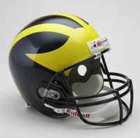 Chase Winovich Autographed Full Size Replica University of Michigan Helmet (Pre-Order)