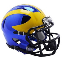 Chase Winovich Autographed University of Michigan Chrome Speed Mini Football Helmet (Pre-Order)