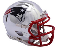 Chase Winovich Autographed New England Patriots Chrome Speed Mini Football Helmet (Pre-Order)