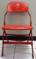 Pavel Datsyuk Autographed Joe Louis Arena Original Metal Folding Chair