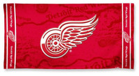 "Detroit Red Wings Wincraft 30""x60"" Beach Towel"