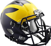 Chase Winovich Autographed University of Michigan Full Size Authentic Matte Speed Helmet (Pre-Order)