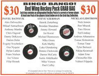 Bingo Bango! Autographed Detroit Red Wings Mystery Puck Grab Bag