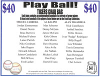 Play Ball! Autographed Detroit Tigers Mystery Baseball Grab Bag